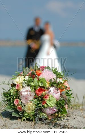 bouquet, bride and groom v.2