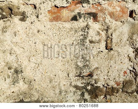 Concrete and Brick Weathered Background