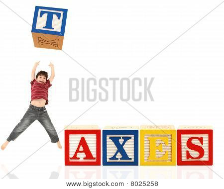 Alphabet Blocks Taxes