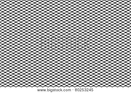 Vector Diamond Mesh Background