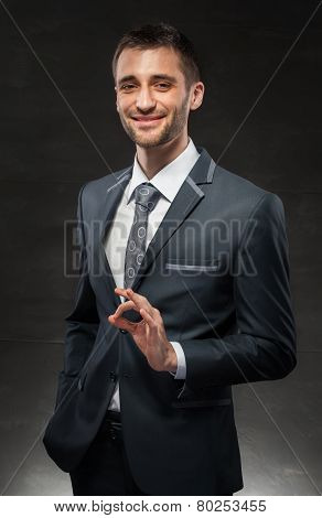 successful man agrees with your choice