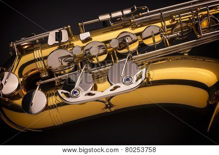 Tenor Saxophone Close up