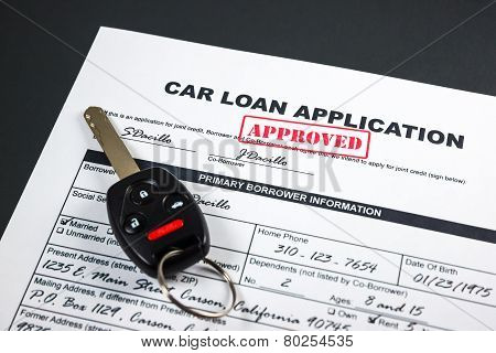 Car Loan Application Approved 002