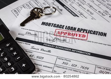 Mortgage Loan Application Approved 008