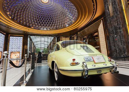 Classic car at The Avenues Mall, Kuwait