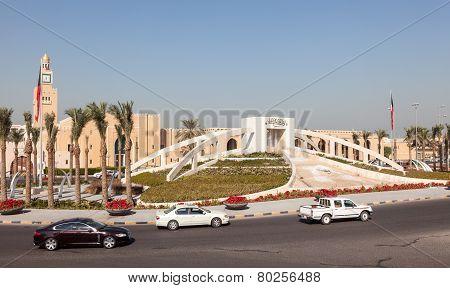 Islamic Monument in Kuwait