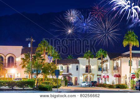 Old Town La Quinta Fireworks