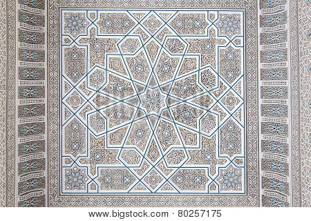 Oriental Decoration in a mosque