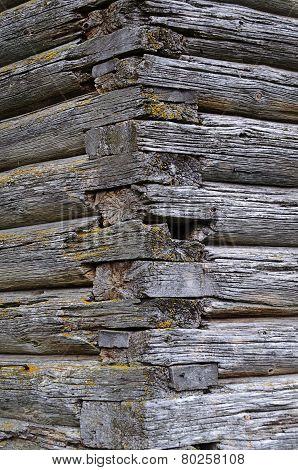 Joints Of Old Log Church