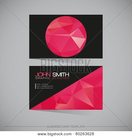 Abstract Modern Business - Card Template | EPS10 Vector Design