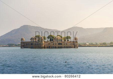 Jal Mahal In Man Sagar Lake, Jaipur
