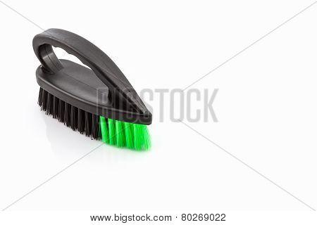 Black Cleaning Plastic Brush .