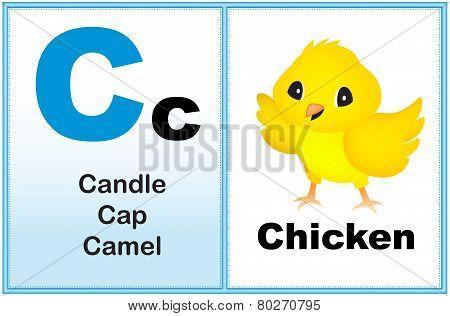 Alphabet Letter C
