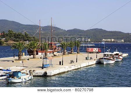 Marina in the Neos Marmaras