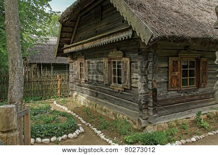Ancestor Fragment Of A Wooden House