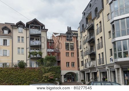 Residential Building In The Centre Of Vevey, Switzerland
