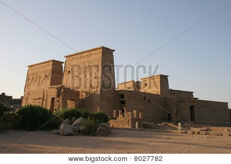 Egypt Temple of Philae Exterior view