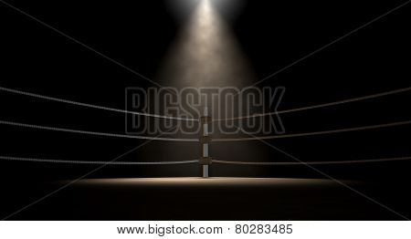 Classic Vintage Boxing Ring Corner