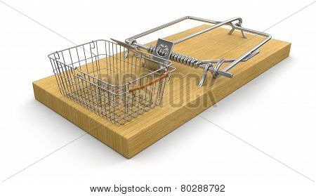 Mousetrap and Shopping Basket