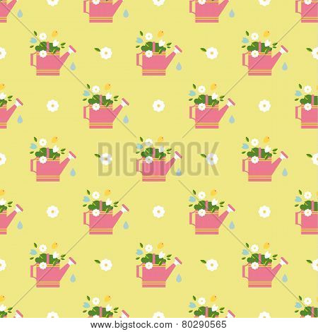 vector flat flower vintages eamless  patterns