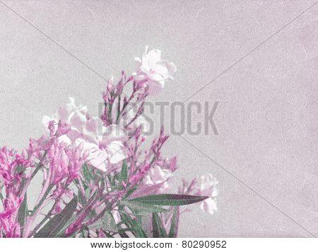 Floral Vintage Grunge Style
