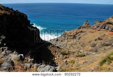 Rugged Valley To The Ocean