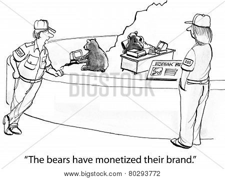 Bears Are Monetizing Their Brand