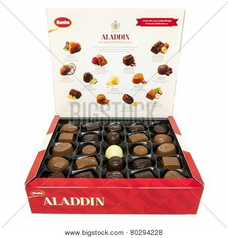 Aladdin Chocolate Selection Open Box