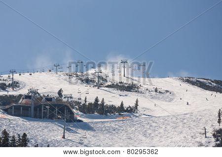 Mass Downhill Skiing