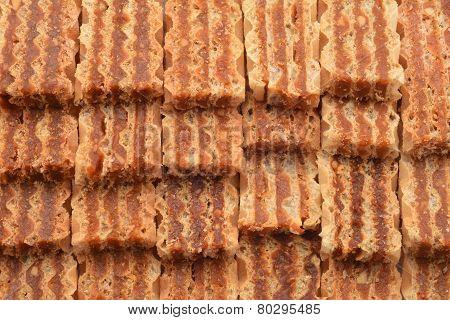 Caramel Wafer Dessert
