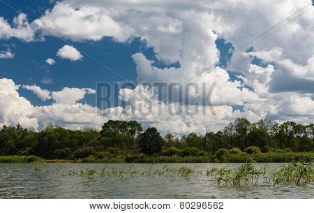 Clouds Over Lake