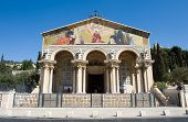 picture of gethsemane  - The church of all nations or  - JPG