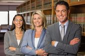 stock photo of lawyer  - Lawyers in the law library at the university - JPG