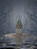Постер, плакат: Fantasy Landscape