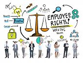 stock photo of equality  - Employee Rights Employment Equality Job Business Technology Concept - JPG