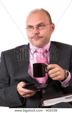 Bored Businessman