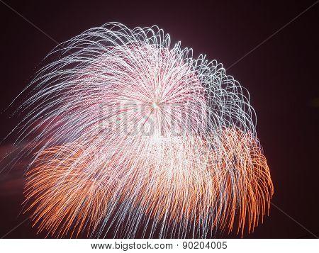Beautiful Colorful Fireworks