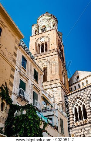 Cathedral Of St Andrea In Amalfi. Campania, Italy