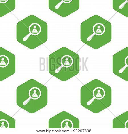 User details pattern