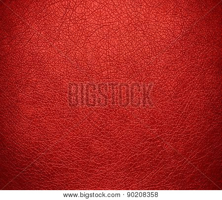 CG Red color leather texture background