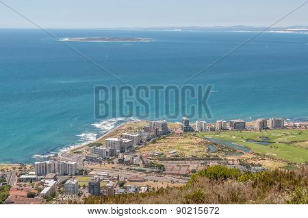 Sea Point And Robben Island