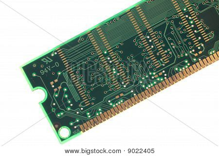 Back View Of Memory
