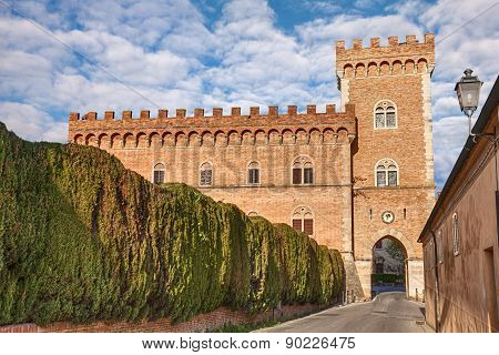 Castle Of Bolgheri In Tuscany, Italy
