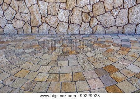 Rock and Marble wall and floor