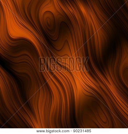 Orange Ripples Seamless Pattern