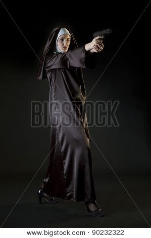 Nun Shooting