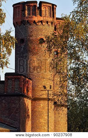 Friedrichsburg Gate On A Summer Evening. Kaliningrad, Russia