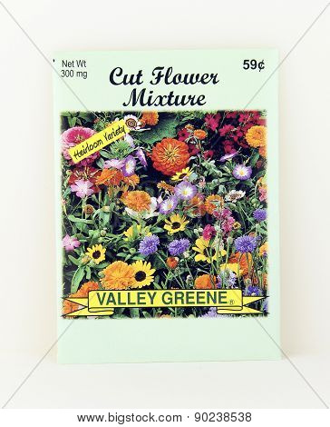 Package Of Valley Greene Cut Flower Seeds