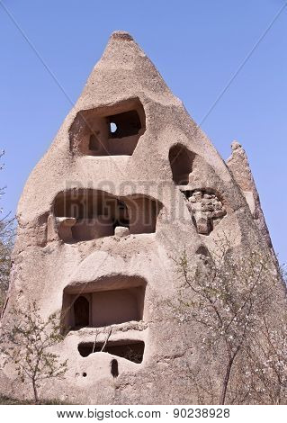 Abandoned Cave Dwelling In Cappadocia