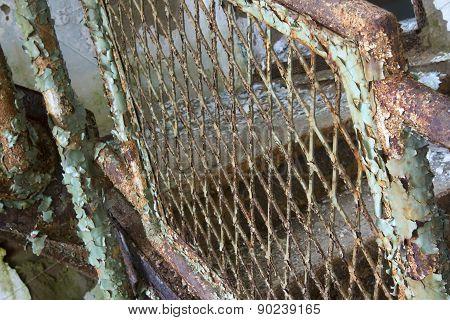 Rusting Stairway